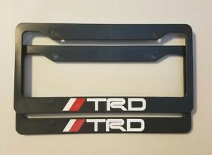 Toyota Racing Development Trd Plastic License Plate Frame Tundra Tacoma 4runner
