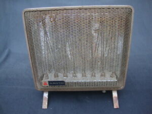 Vintage Mid Century Arvin Electric Space Heater 5918 Works Great 1320 Watts Fan