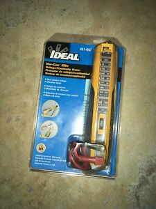 Ideal Vol con Elite Voltage continuity Tester 61 092 New