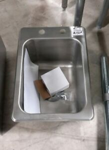John Boos Pb disink101410 One Compartment Drop in Sink