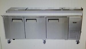 Bison Bpt 93 93 Refrigerated Pizza Prep Table