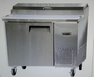 Bison Bpt 44 44 Refrigerated Pizza Prep Table