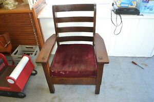 Antique Mission Lifetime Wing Chair Unusual