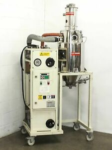Lanco Ltk 40 Polycarbonate Plastic Materials Dryer Injection Molder as is