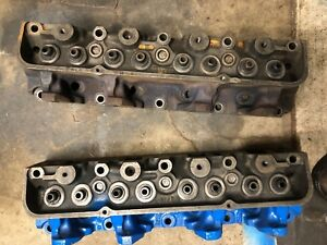 Ford Fe 352 360 390 Big Block Heads D2te Aa