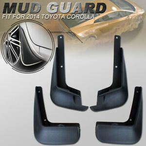 Mud Flaps Splash Guard Mudguard Fender For Toyota Corolla Sedan 2014 2017