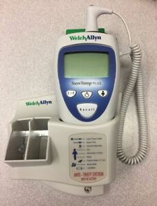 Welch Allyn 01692 300 Suretemp Plus 692 Electronic Thermometer With Wall Mount