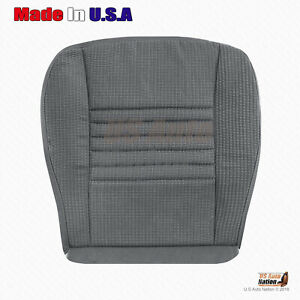 2006 2009 Dodge Ram 1500 Passenger Bottom Cloth Replacement Seat Cover Gray