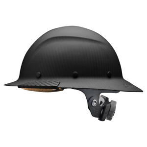 Lift Safety Hdfm 17kg black Dax Carbon Fiber Full Brim matte Black