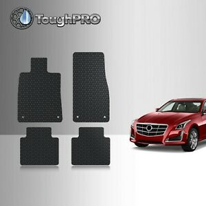 Toughpro Floor Mats Black For Cadillac Cts Sedan All Weather 2014 2019