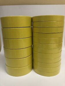 Bodyshop Automotive Masking Tape 3 4 Inch 1 1 2 Yellow 2 Sleeves Uv Outdoor