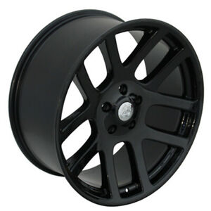 Black Wheel 22x10 For 2011 2014 Ram 1500 Owh3602