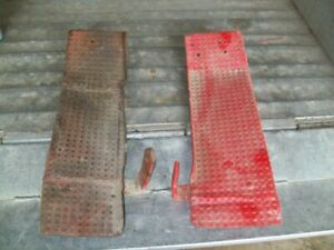 Ford 9n Tractor Used Pair Of Foot Boards Ford 8n
