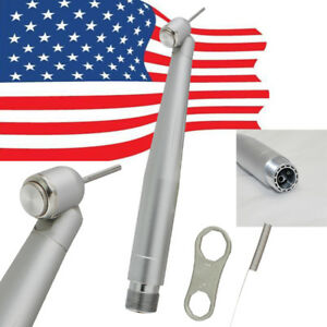 Usa Dental High Speed Handpiece Led 45 Degree Fiber Optic E generator 2h Fit Nsk