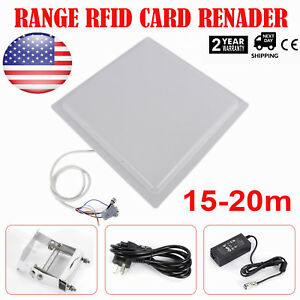 Ip65 15 Meter Rfid Uhf Passive Directional Reader writer For Car Packing System