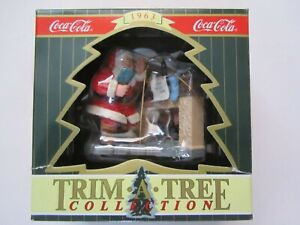 COCA COLA TRIM-A-TREE Vintage Xmas ORNAMENT 1996