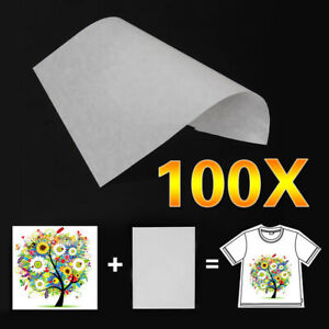100pc A4 Sublimation Iron On Heat Transfer Paper For Inkjet Printer Mug T shirt
