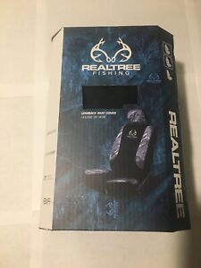 Realtree Fishing Lowback Seat Cover For 1 Seat