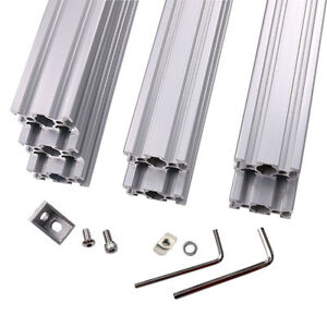 Am8 3d Printer Aluminum Metal Extrusion Frame Full Kit For Upgrade Anet A8
