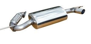 Smart Car Muffler Side Exit Exhaust Stainless Steel By Solo Performance