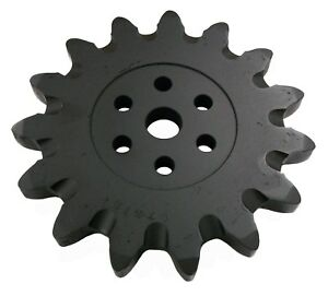 15 Tooth Sprocket 5 8 Holes 7110384 Bobcat Lt313 Lt414 Trencher Attachment