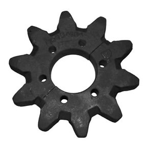 10 Tooth Split Sprocket 6654134 fits Burkeen B13 B16 Bobcat T116 T208 Trencher