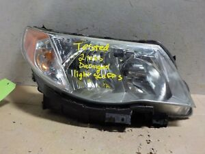 Passenger Right Halogen Oem Subaru Forester 09 10 11 12 13 Headlight b grade