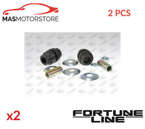 2x Fz90450 Fortune Line Lower Front Anti Roll Bar Stabiliser Bush Kit I New