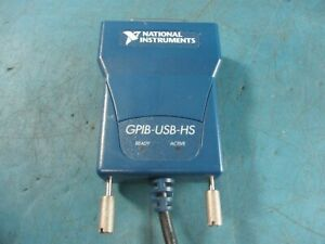National Instruments Ni Gpib usb hs Interface Adapter Used