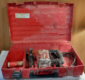 Hilti Te25 Sds Rotary Hammer Drill Case And 3 Bits