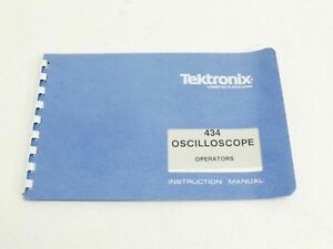 Tektronix 434 Instruction Manual 070 1131 00