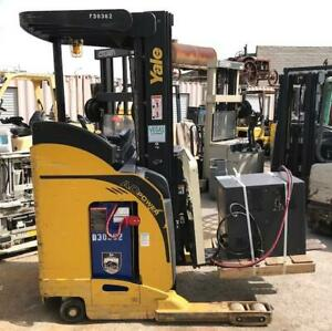 2007 Yale Nr040 Electric Stand Up Reach Lift 24v 3 Stage Charger