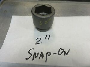 Snap On Impact Socket 1 Drive 2 Armstrong Williams 1 Inch Drive
