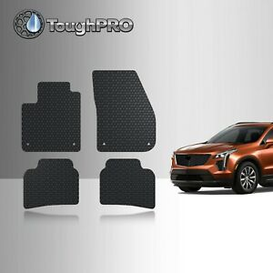 Toughpro Floor Mats Black For Cadillac Xt4 All Weather Custom Fit 2019 2021