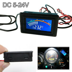 Car Auto Thermometer Temperature Gauge Meter Oil Chargecooler Water Real Time