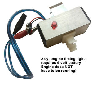 Custom Made Timing Light Designed Specifically For 2 Cylinder Engines
