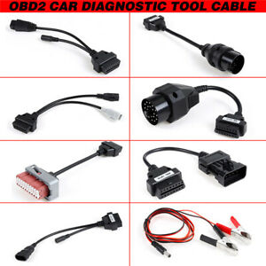 8pcs Car Tcs Cdp Pro Programmer Obd2 Diagnostic Interface Cable For Autocom Wide