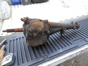 Vintage Manual 3 Speed 1963 Chevy Chevrolet Transmission S741468 Gm16 3849594