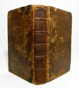 Rare 1737 Ancient Hist Of The Egyptians C Rollin London Leather Vol Xi Pt 2