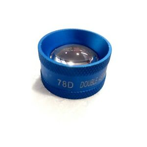 Free Shipping 78d Double Aspheric Lens Blue Colour Optometry