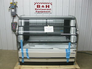 Hill Phoenix 5 Remote Curved Glass Donut Bakery Display Case Blf59r 2017 Model
