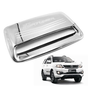 Fits Toyota Fortuner Suv 2011 2012 2015 Bonnet Hood Scoop Cover Trim Chrome