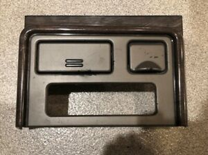 03 06 Gmc Yukon Sierra Denali Center Console Upper Bezel Dash Woodgrain