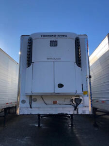 2009 Utility 53 Reefer Trailer W Thermo King Sb210 Unit 91356