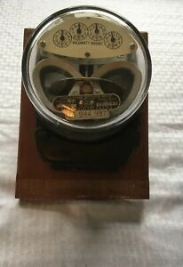 Vintage General Electric Single Phase Watthour Meter Type I 16