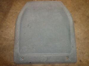 Toyota Supra Mk3 1990 Grey Back Of Seats Oem Grey Cloth Dirty Set