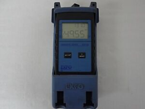 Exfo Fiberoptic Tester Fot 10a Optical Power Meter P n Fot 12a
