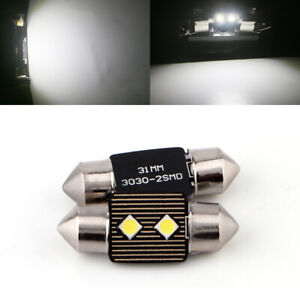 100pcs 31mm Canbus Error Free Led License Plate Lights De3021 3022 6428 Festoon