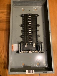Square D Circuit Breaker Load Center Indoor 35347 Series S01 125a 32 Spaces