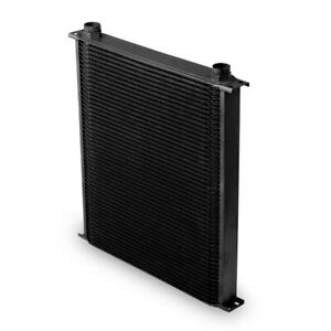 Earls 82500aerl Black 10 An 25 Row Oil Cooler Extra Wide